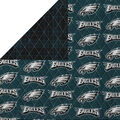 Philadelphia Eagles Double Faced Quilt Fabric