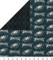 Philadelphia Eagles Double Faced Quilt Fabric, , hi-res