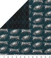 Philadelphia Eagles Double Faced Quilt Fabric, , hi-res