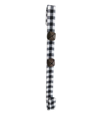 Blooming Holiday Christmas 14'' Wreath Hanger-Buffalo Check