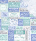 Lilac Whisper Double-Sided Cardstock 12\u0022X12\u0022-Well Wishes