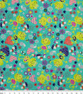 Snuggle Flannel Fabric -Garden Frog