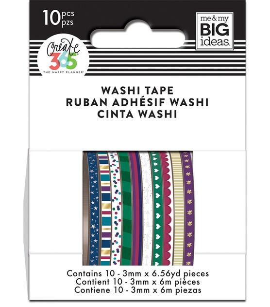 The Happy Planner Mini Washi Tape Jewel Tones, , hi-res, image 1