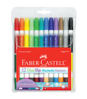 Duo Tip Washable Markers-12/Pkg, , hi-res