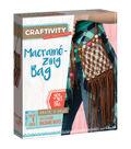 Creativity for Kids CRAFTIVITY Macrame Zing Bag Kit