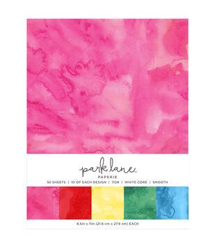 Park Lane 50 pk 8.5''x11'' Value Papers-Watercolor