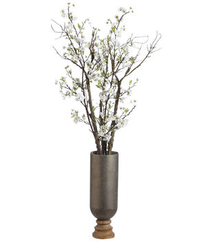 Cherry Blossom in Iron Wood Planter 66''