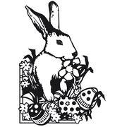 Darice Embossing Folder Easter Bunny, , hi-res