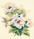 Dimensions Hibiscus Floral Crewel Kit