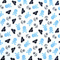 Babyville Laminate Waterproof Fabric 9.5\u0022-Pirate Print