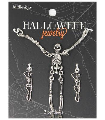 hildie & jo Halloween 3 Pack Skeleton Body Pendants