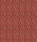Eaton Square Multi-Purpose Decor Fabric-Worldwide/Claret