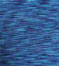 Loungeletics Knit Fabric 24\u0022-Blue Spacedye