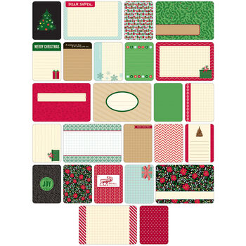 Project Life Themed Cards 40/Pkg-Christmas