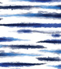 Indigo Mist 60\u0027\u0027x60\u0027\u0027 Round Tablecloth-Stripes
