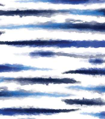 Indigo Mist 60''x60'' Round Tablecloth-Stripes