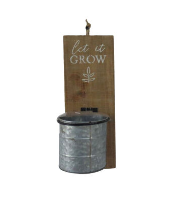 In the Garden Wall Decor-Let it Grow