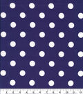 Keepsake Calico Cotton Fabric-Large Dot Purple
