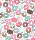 Blizzard Fleece Fabric 59\u0027\u0027-Icing & Sprinkles on Donuts