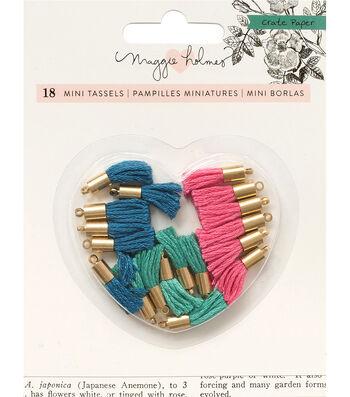Maggie Holmes Flourish Tiny Tassels 18/Pk