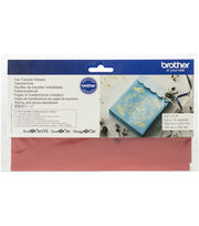 Brother ScanNCut SDX125 Foil Transfer Sheets-Red, , hi-res