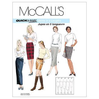 McCall's Misses Skirt-M3830