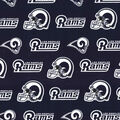 Los Angeles Rams Cotton Fabric