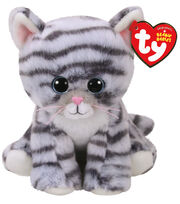 Ty Beanie Boos Regular Grey Cat-Kiki, , hi-res
