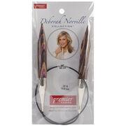 Deborah Norville Fixed Circular Needles 24'' Size 19/15.0mm, , hi-res