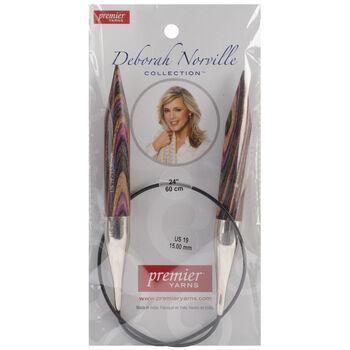 Premier Yarns Fixed Circular Needles 24'' Size 19/15.0mm