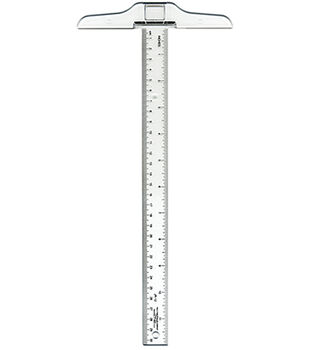 C-Thru Ruler Junior T-Square 12""