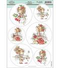 Hobby House Wee Stamps Topper Sheet 8.3\u0022X12.2\u0022-Rosetta