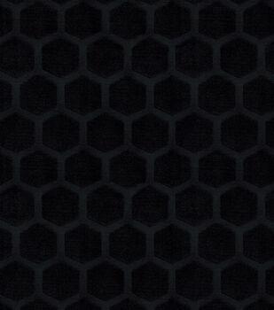 "Waverly Upholstery Fabric 56""-Symmetry/Onyx"