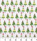 Keepsake Calico Christmas Cotton Holiday Fabric-Christmas Tree Crackle