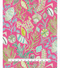 Dena Designs Outdoor Fabric 13x13\u0022 Swatch-Sun Dream Daquiri