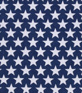 Snuggle Flannel Fabric 42\u0027\u0027-Stars on Navy