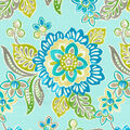 Waverly Outdoor Fabric 54\u0022-Tilt & Twirl Oasis