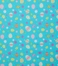 Easter Cotton Fabric -Easter Egg Multi Dot
