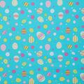 Easter Cotton Fabric -Easter Egg Multi Dot