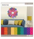 K&Company Basics Paper Pad Darks 12\u0027\u0027x12\u0027\u0027