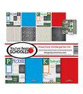 Reminisce Collection Kit 12\u0022X12\u0022-You\u0027ve Been Schooled, Preschool/Kinder