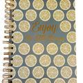 Park Lane 7.5\u0027\u0027x9.5\u0027\u0027 Spiral Notebook-Enjoy the Little Things & Lemon