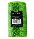 Maker\u0027s Halloween Metallic Decorative Mesh Ribbon 5.5\u0027\u0027x30\u0027-Lime Green