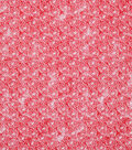Keepsake Calico Cotton Fabric -Mum Red Tonal