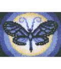 Wonderart Latch Hook Kit 15\u0022X20\u0022-Butterfly Moon