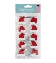 Jolee's Boutique Le Grande 10 pk Dimensional Stickers-Santa Hats, , hi-res