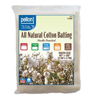 Pellon All Natural Cotton Batting-Queen