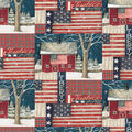 Christmas Cotton Fabric-Susan Winget Justice For All