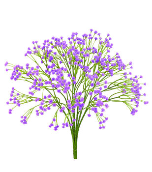 "Bloom Room 15"" Baby's Breath Bush-Lavender"