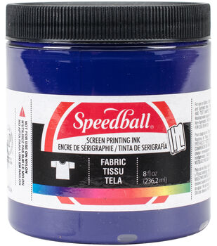Fabric Screen Printing Ink 8 Ounces